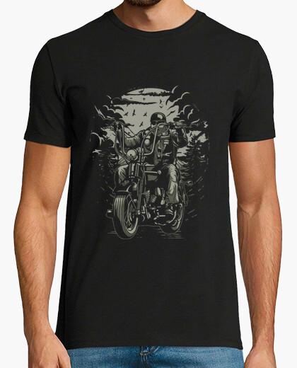 T-Shirt leben zu reiten