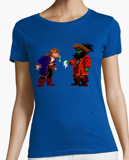 Tee-shirt lechuck et guybrush threepwood (femme)