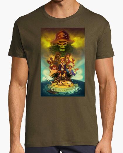 Camiseta Lechuck Theme Monkey Island