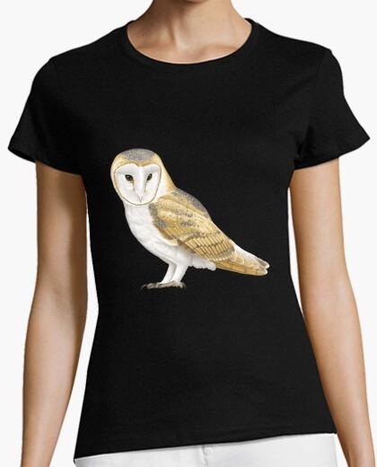 Camiseta Lechuza común