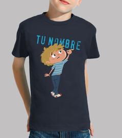 l'écriture de l'enfant - shirt enfant