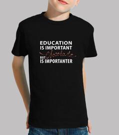 l'éducation est importante - mais le chocolat