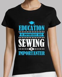 l'educazione è importante ma cucendo