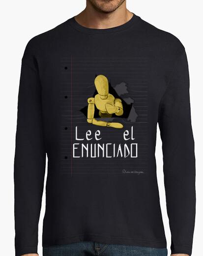 Lee el enunciado 1 para camiseta oscura