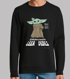 Lee el enunciado Yoda, para claras
