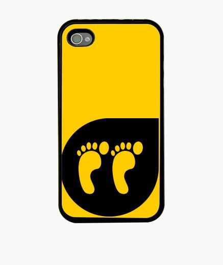 Funda iPhone left foot negro