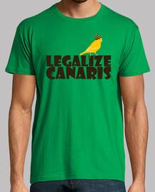 Legalizar canarios