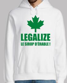 Legalize le sirop d'érable