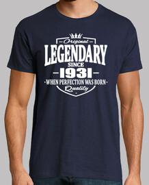 légendaire depuis 1931