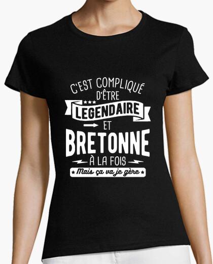 Tee-shirt Légendaire et bretonne à la fois