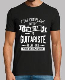 Légendaire et guitariste à la fois