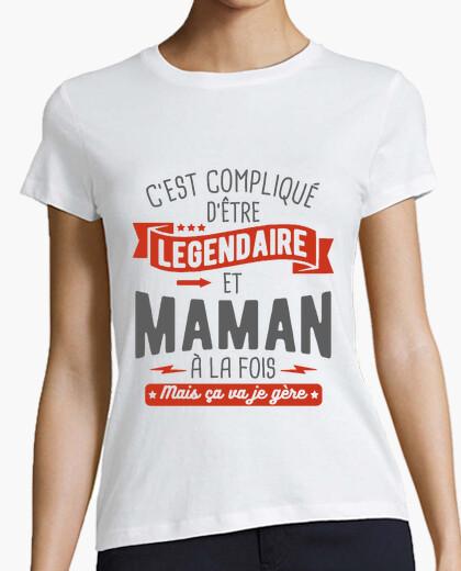 Tee-shirt légendaire et maman