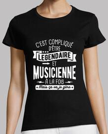 Légendaire et musicienne à la fois