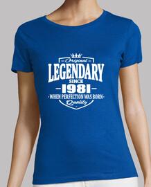 legendaria desde 1981