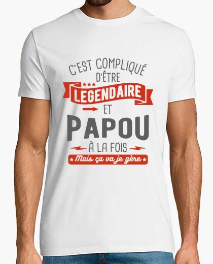Camiseta legendario y gentil