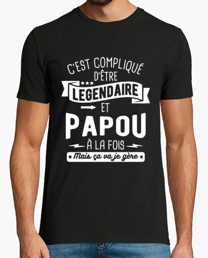 Camiseta legendario y gentoo a la vez