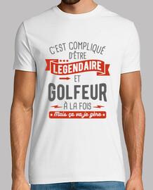 legendario y golfista