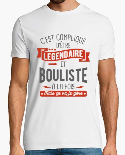 Camiseta legendario y jugador de bolos
