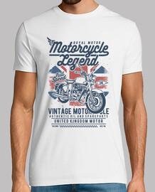 légende de la moto