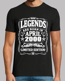 Legenden geboren im April 2000