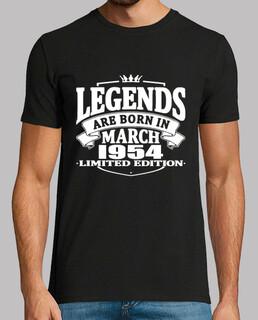 legenden werden im märz 1954 geboren