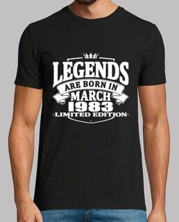 legenden werden im märz 1983 geboren