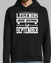Legenden werden im September geboren