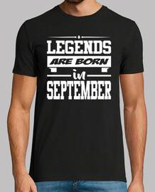 légendes sont nés en septembre