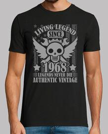 légendes vivantes depuis 1968 légendes jamais