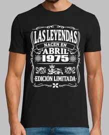 Legends are born in April 1975