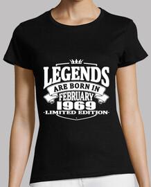 Legends are born in february 1969