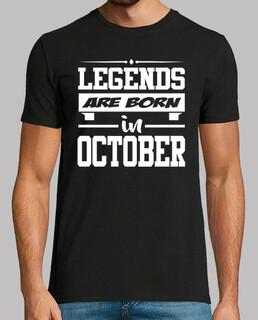 LEGENDS ARE BORN IN OCTOBER