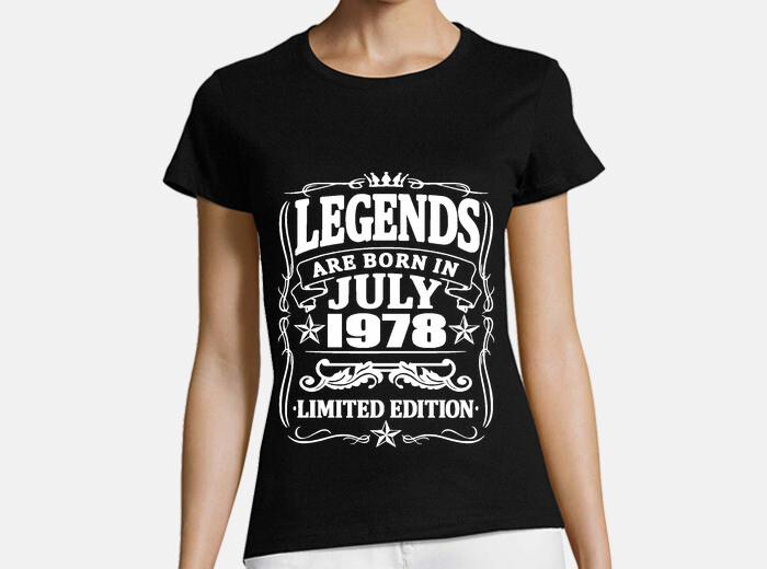 2e08dc5d Legends born in july 1978 T-shirt - 1745478   Tostadora.com