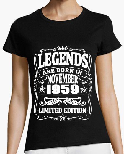 c52cb0996 Legends born in november 1959 T-shirt - 1747161   Tostadora.com