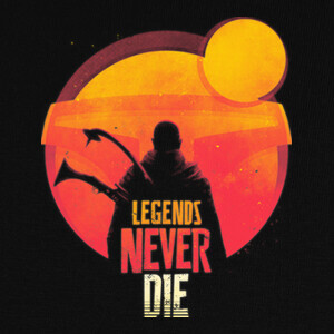 Camisetas Legends Never Die