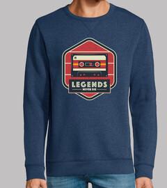 legends never die - vintage retro casse