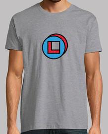 legión serie redonda de color azul