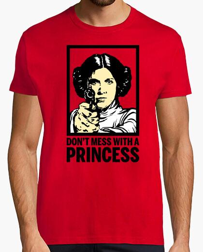 Camiseta Leia - No te Metas con una Princesa (La Guerra de las Galaxias)