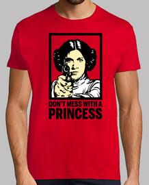 Leia - No te Metas con una Princesa (La Guerra de las Galaxias)