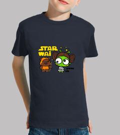 leia  T-shirt  de bébé par vivar