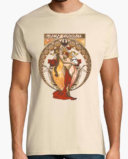 Camiseta Leia Art Nouveau