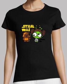 leia camiseta mujer mc by vivar