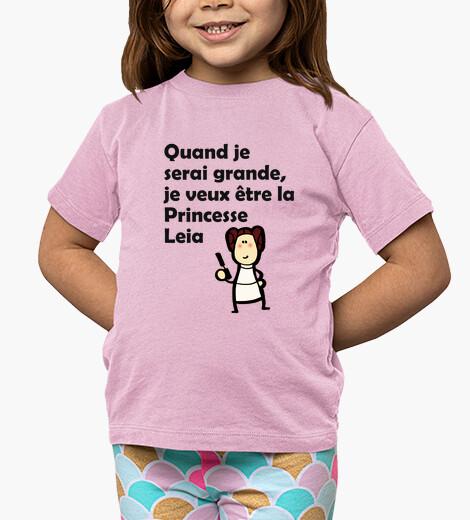 Ropa infantil Leia en Francés