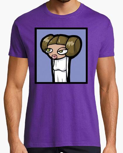 Leia Star Wars StarWars camisetas frikis  friki