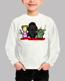 Leia, Vader, Yoda