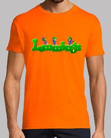 Lemmings logo person