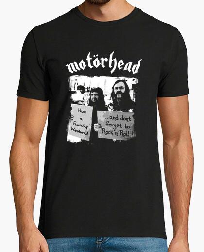 Camiseta Lemmy-no te olvides de rock n 39roll-mo