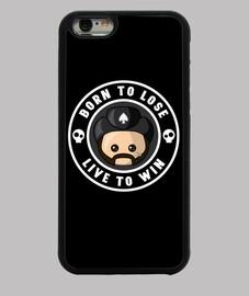 Lemmy Born to lose Funda iPhone 6