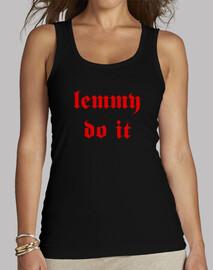 Lemmy do it - Red - Motorhead