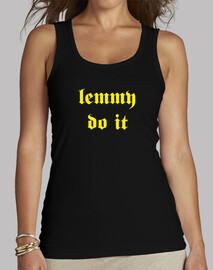 Lemmy Do It - Yellow - Motorhead